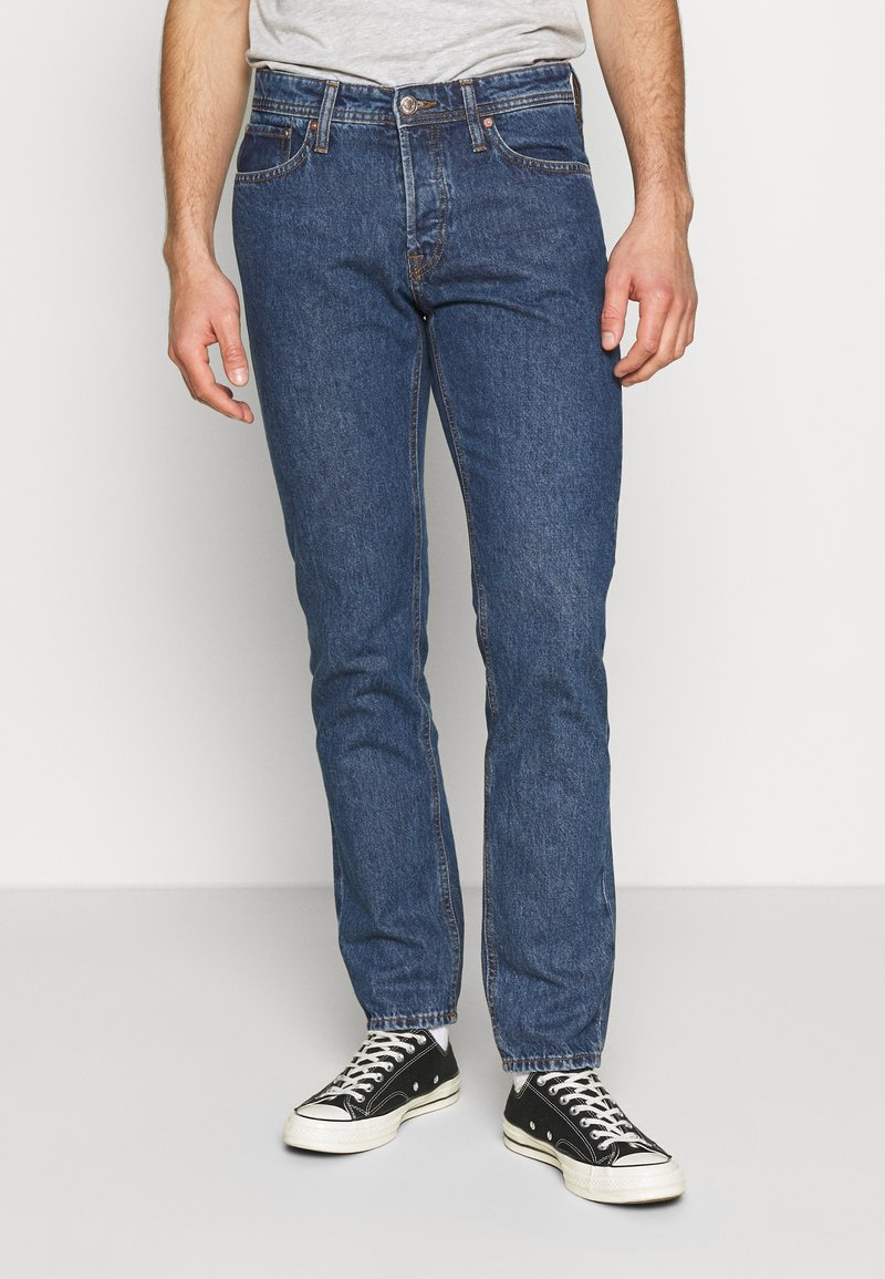 Jack & Jones - JJIMIKE JJORIGINAL - Slim fit jeans - blue denim