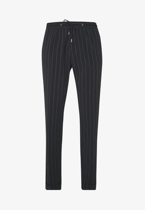 GENTS DRAWSTRING TROUSER - Pantaloni - black