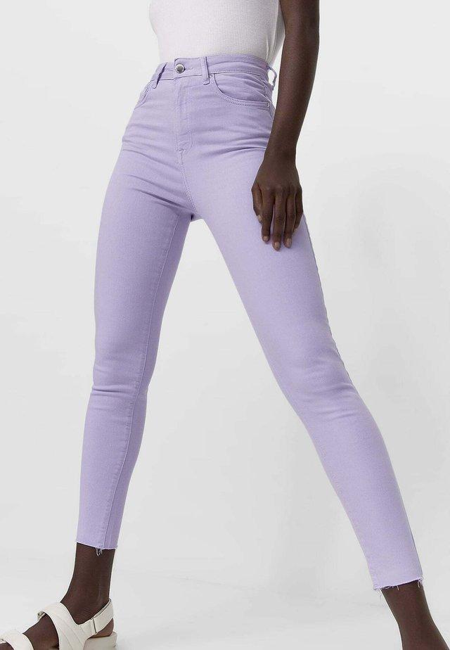 Skinny džíny - mauve