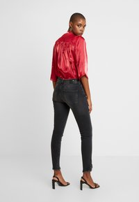 Mos Mosh - SUMNER FRAY TROK - Jeans Skinny Fit - black - 2