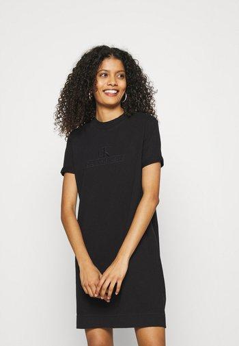 ARCHIVES DYE DRESS - Jersey dress - black