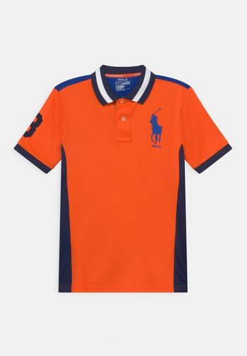 Poloshirt - sailing orange