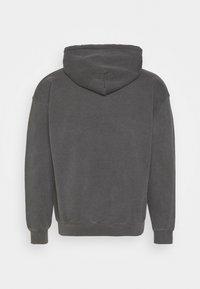 Mennace - SUNDAZE FLOWER CLOUD REGULAR HOODIE - Sweatshirt - dark grey - 1