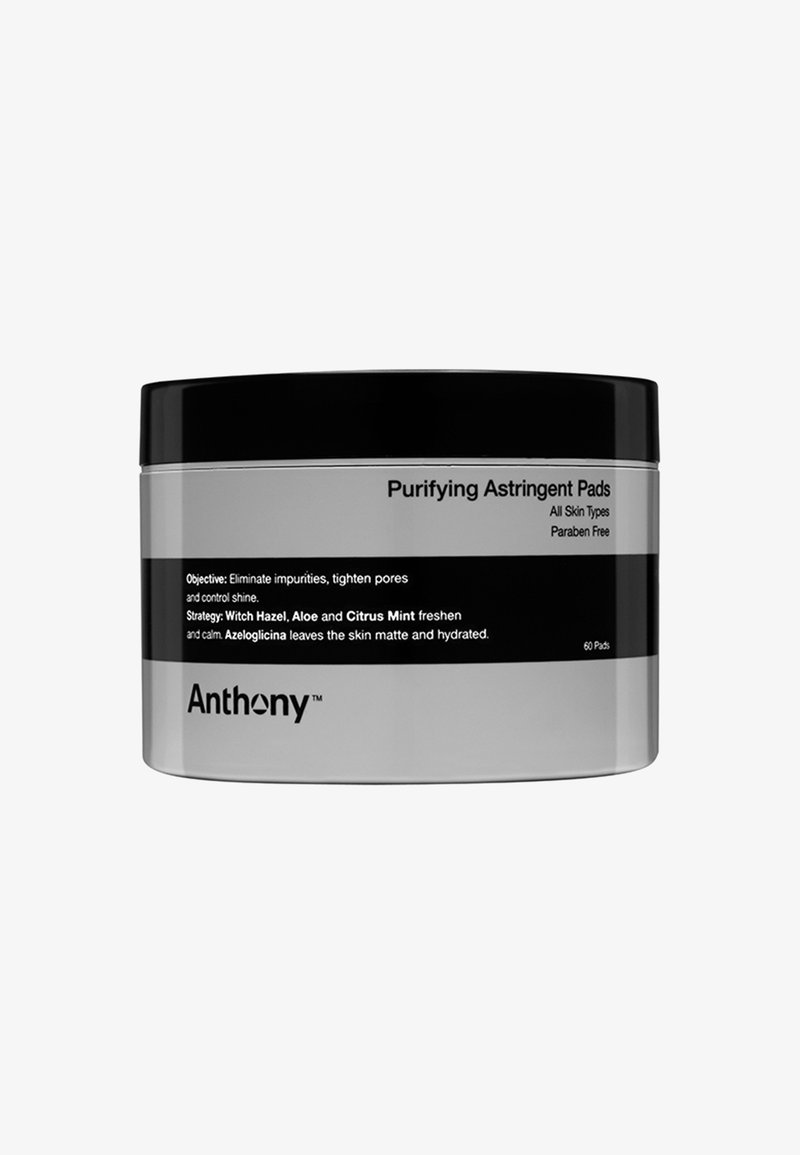Anthony - PURIFYING ASTRINGENT PADS 60 PADS - Cleanser - -