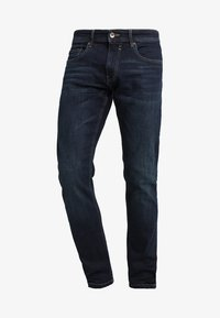 Esprit - Jeansy Straight Leg - blue dark wash - 4
