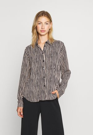 HAGGI  - Button-down blouse - cement