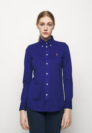 HEIDI LONG SLEEVE - Button-down blouse - sporting royal