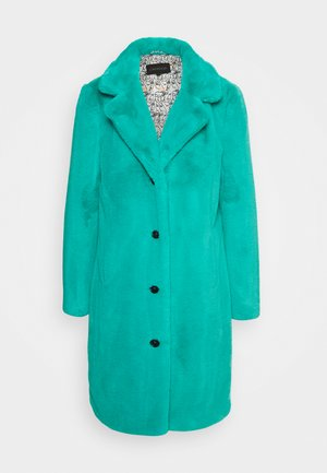 CYBER - Winter coat - turquoise