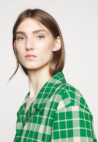 MM6 Maison Margiela - Button-down blouse - green - 4