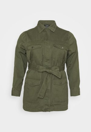 LOTUS BELTED SHACKET - Summer jacket - khaki