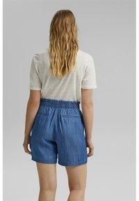 Esprit - Denim shorts - blue medium wash - 2