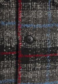 TOM TAILOR - OVERSHIRT CHECK - Chaqueta de entretiempo - blue/grey - 2