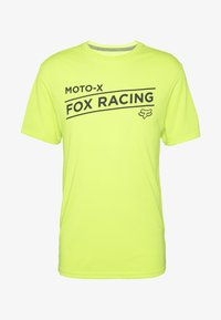 Fox Racing - BANNER TECH TEE - T-Shirt print - lime - 3