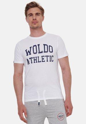 WOLDO ATHLETIC - T-shirt print - weiß