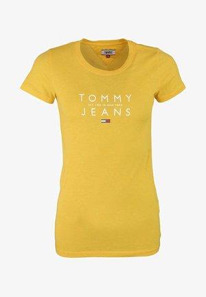 SONNENGE - Print T-shirt - gelb