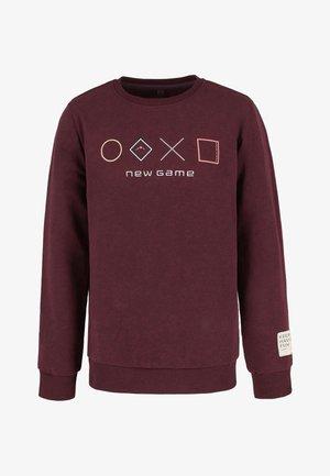 B-ANDY JUNIOR - Sweater - burgund mel