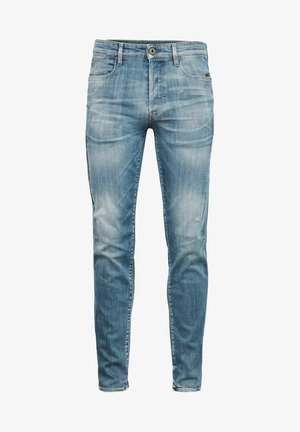 CITISHIELD 3D SLIM TAPERED - Slim fit jeans - faded spruce blue wp