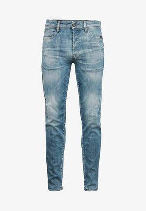 CITISHIELD 3D SLIM TAPERED - Jean slim - faded spruce blue wp