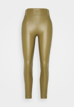 VIANNAS NEW COATED - Leggings - butternut