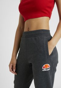 Ellesse - QUEENSTOWN - Tracksuit bottoms - dark grey marl - 3