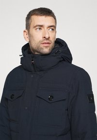 Tommy Hilfiger - REMOVABLE HOODED - Parkatakki - blue - 5