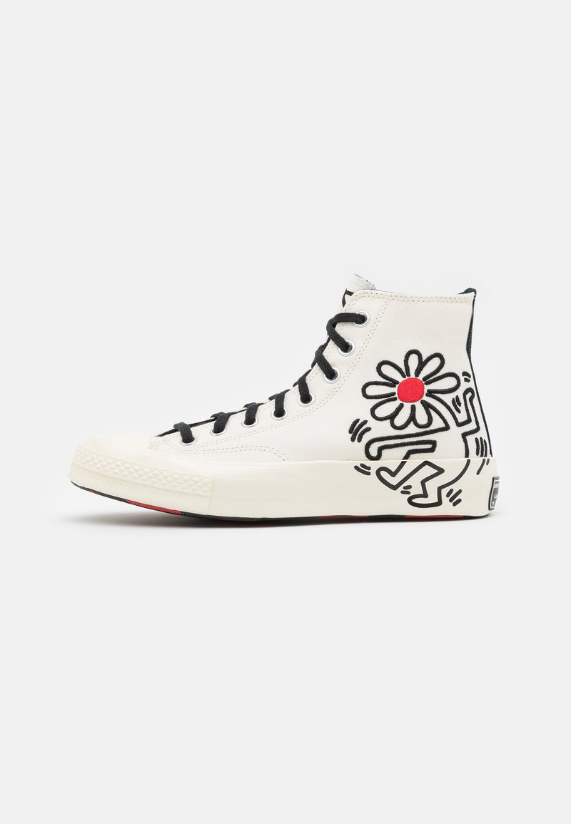 Converse - CONVERSE X KEITH HARING CHUCK 70 - High-top trainers - white/black