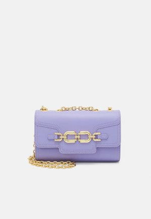 MORSETTI LOGO CHAIN CROSSBODY - Across body bag - lavanda