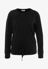 Deha - FELPA GIROCOLLO - Sweatshirts - black - 6