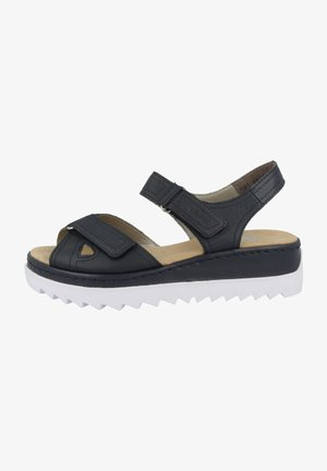 Wedge sandals - pacific
