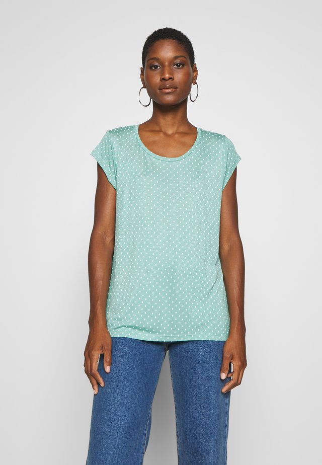 T-shirt z nadrukiem - eucalyptus