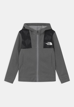 BOY'S SURGENT HOODIE - Fleecová bunda - mottled light grey