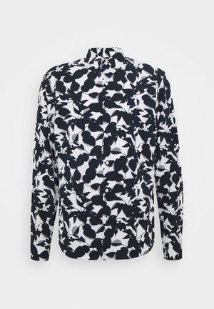 SLIM LARGE FLORAL PRINT - Shirt - dark midnight