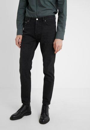 BYRON - Straight leg jeans - washed black