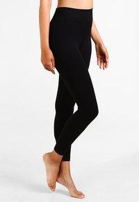 Pretty Polly - SEAMLESS - Leggings - Stockings - black - 0