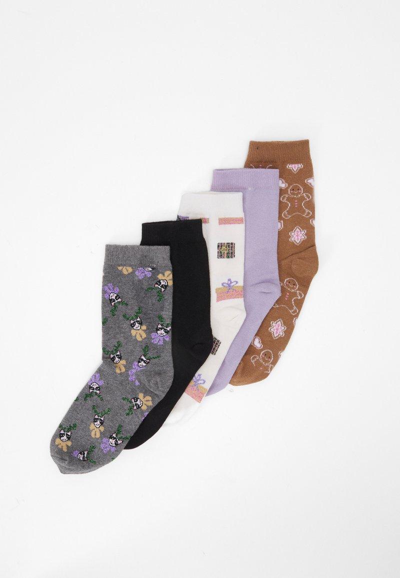 Monki - POLLY SOCK 5 PACK - Socks - multi-coloured