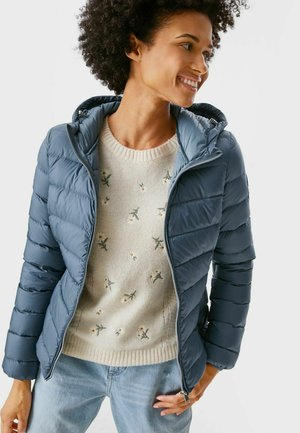 Down jacket - gray