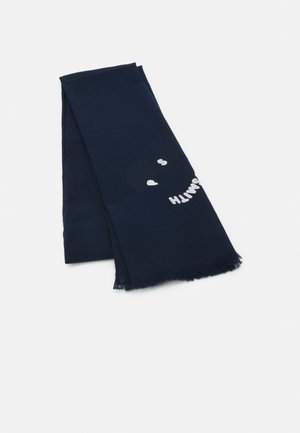MEN SCARF SMILE UNISEX - Scarf - navy