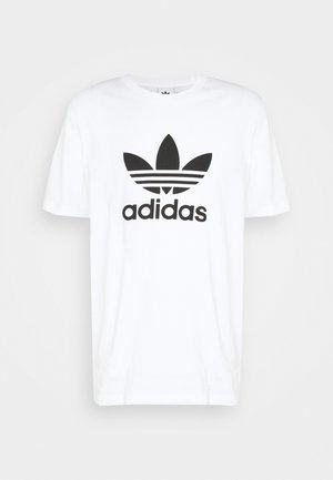 TREFOIL UNISEX - Print T-shirt - white/black