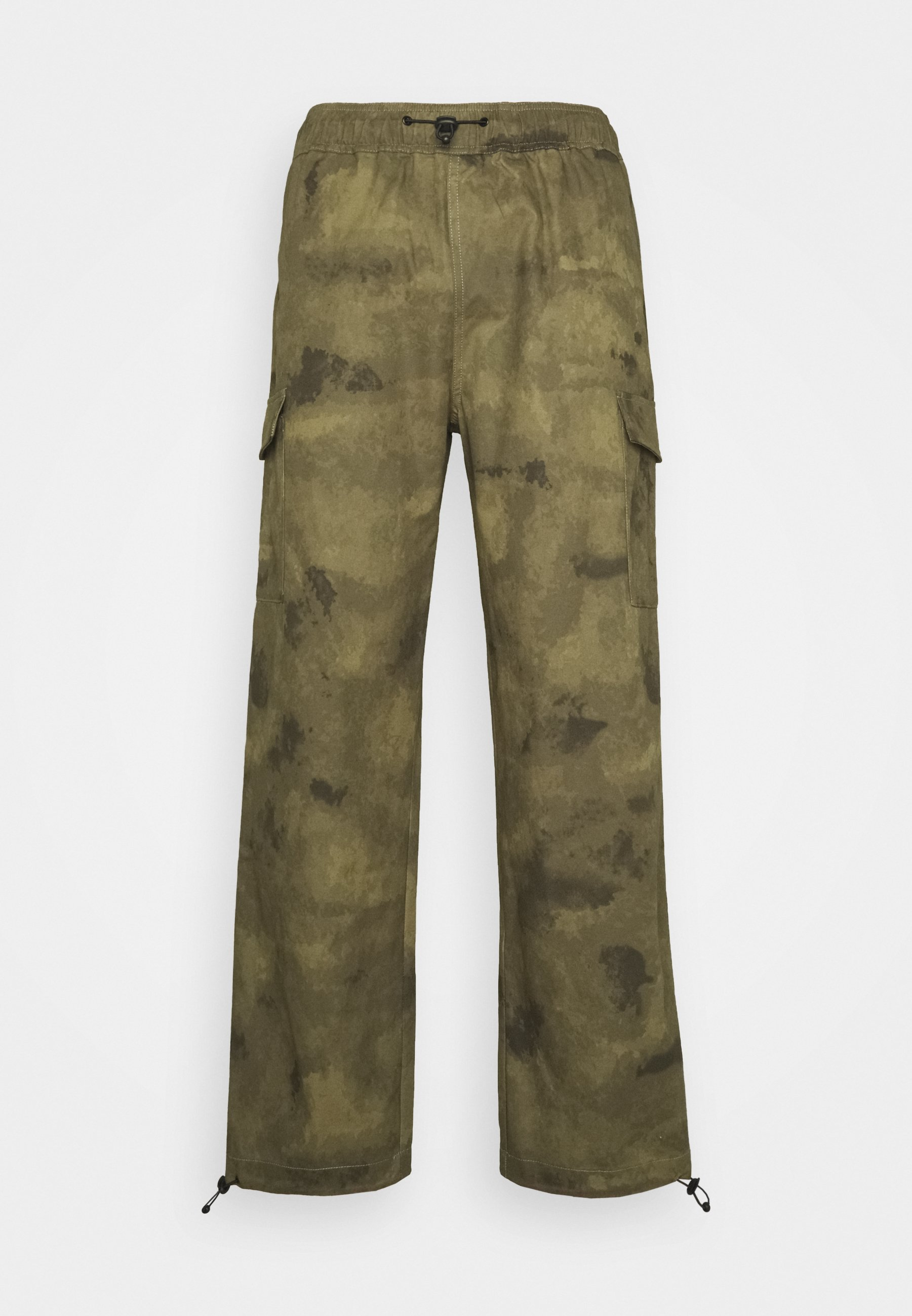Men TROUSERSWASHED CAMO - Cargo trousers