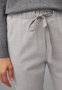Marc O'Polo - Trousers - middle stone melange - 4