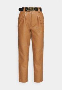 MIKAELA PANTS - Kalhoty - brown