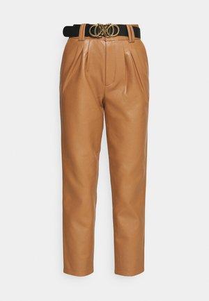 MIKAELA PANTS - Trousers - brown