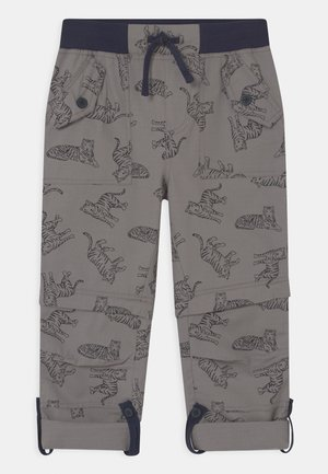 TYLER RIPSTOP COMBATS TIGERS 2-IN-1 - Trousers - mid grey