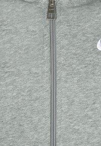 Nike Performance - FULL ZIP - Zip-up hoodie - dark grey heather/white - 2
