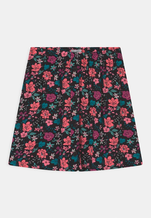 TEEN GIRLS - Mini skirt - neon coral