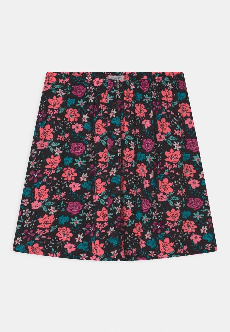 Lemon Beret - TEEN GIRLS - Mini skirt - neon coral