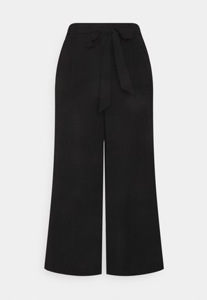 ONLWINNER PALAZZO CULOT PANT   - Kalhoty - black