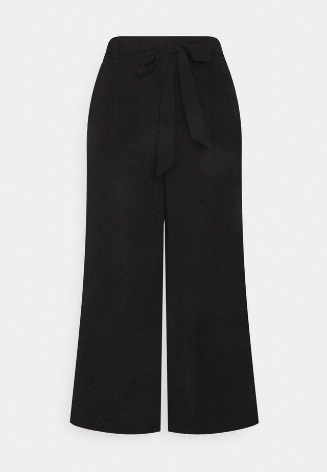 ONLWINNER PALAZZO CULOT PANT   - Pantaloni - black