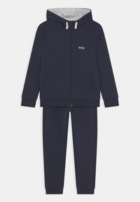 BOSS Kidswear - SET - Chándal - navy - 0