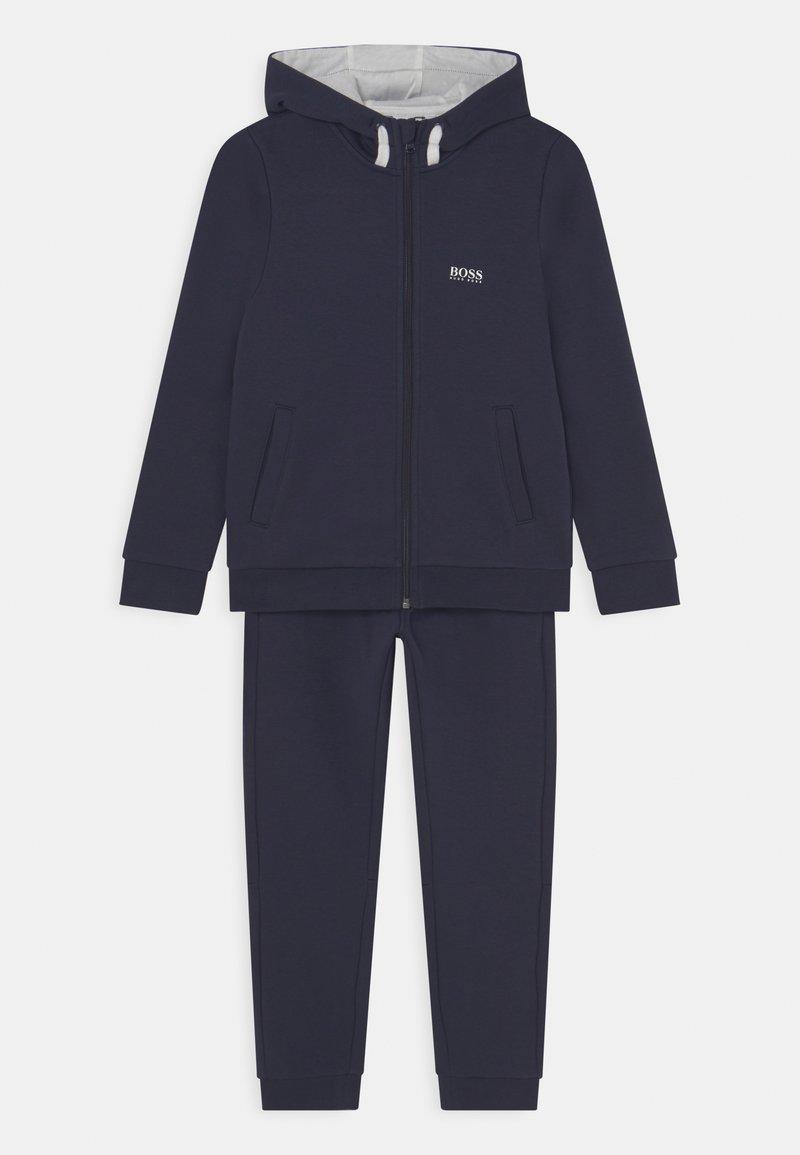 BOSS Kidswear - SET - Chándal - navy